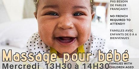 Bébé massage (famille avec poupons) billets