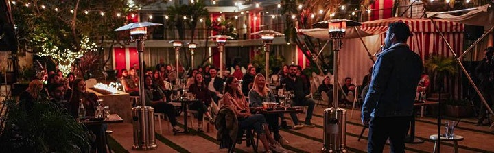 F Bomb Presents: Poolside Comedy at Chambers eat+drink! image