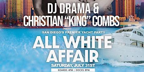 San Diego's Premier Yacht Party: An All White Affair tickets