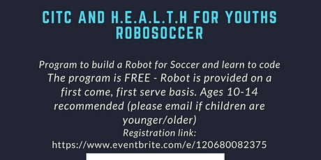 HEALTH for Youths NYCFC Robosoccer Workshop Series tickets