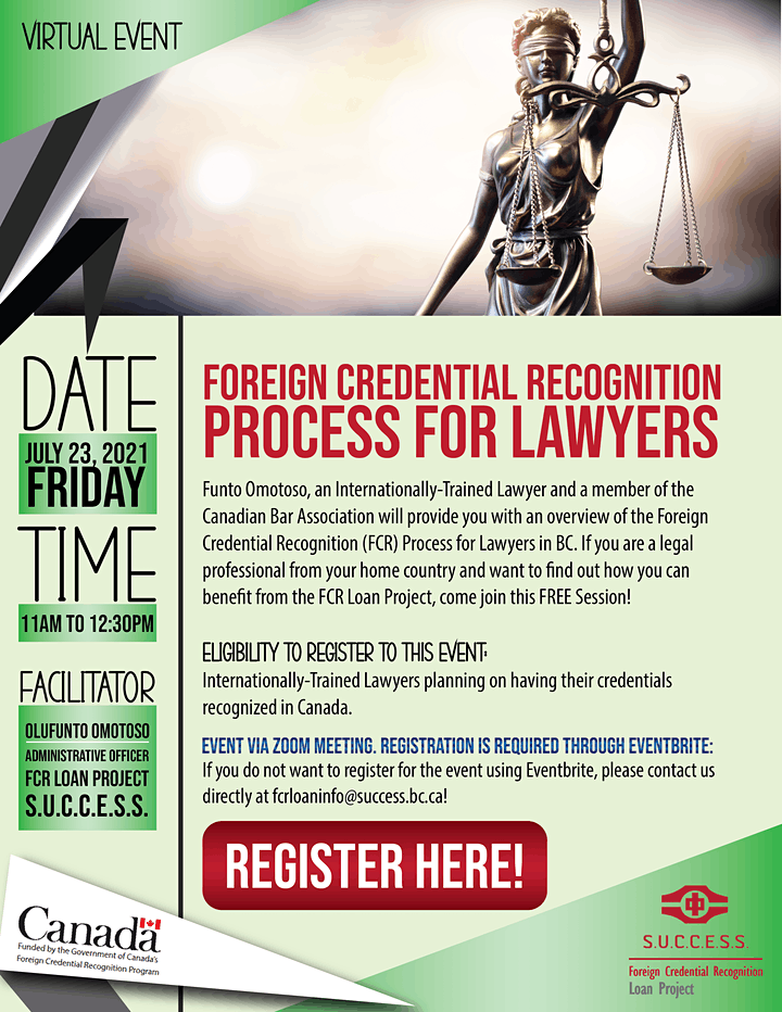 Foreign Credential Recognition Process for Lawyers image