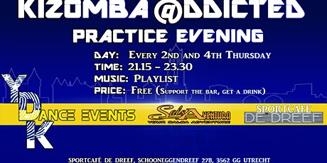 Kizomba @ddicted Social (free. Support the bar, get a drink) tickets