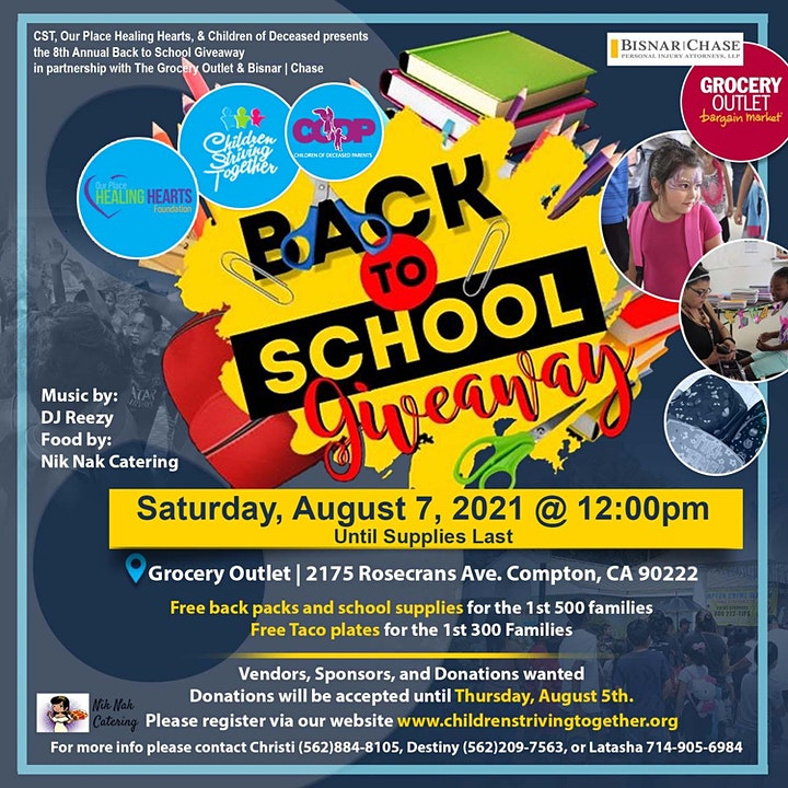 8th Annual Back to School Giveaway image