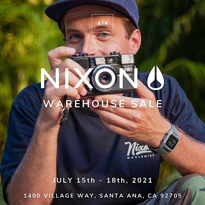 Nixon Warehouse Sale - Santa Ana, CA image