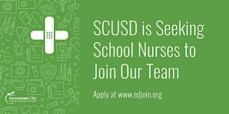 Sacramento City School  District: School Nurse Hiring Event tickets