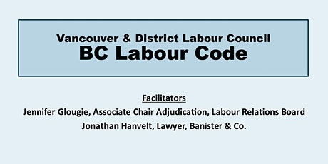 BC Labour Code tickets