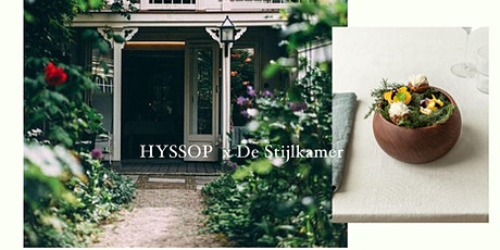 Social Fine Dining Experience by HYSSOP x De Stijlkamer tickets