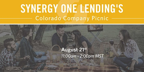 Synergy One Lending Company Picnic tickets