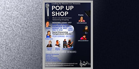 Leading by Mission LLC Pop Up Shop tickets