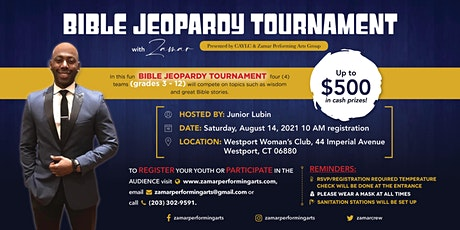 Bible Jeopardy with Zamar Performing Arts Group tickets