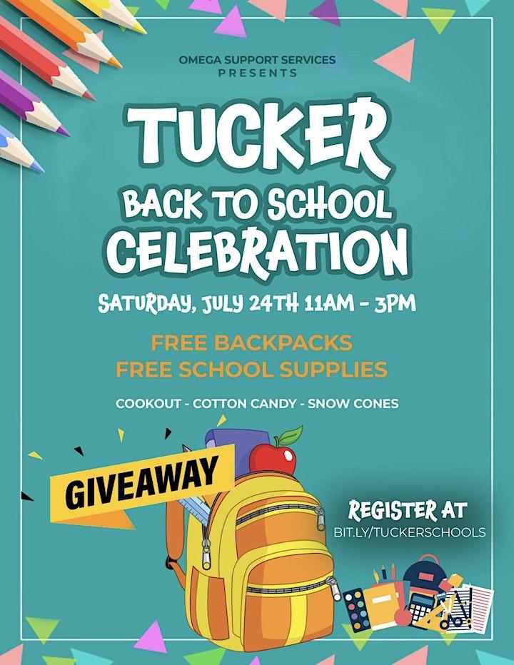 Tucker  Back to School Celebration image