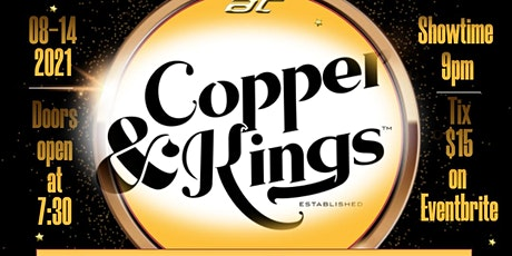 Comedy Night at Copper and Kings Distillery tickets