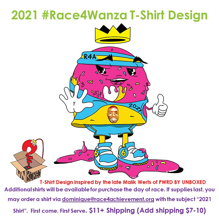 Doughnut Dash 5k 2021 #Race4Wanza image