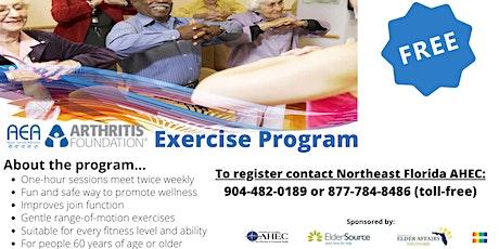 Free Arthritis Foundation Exercise Program tickets