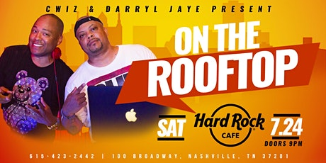On The Rooftop at the Hard Rock Cafe Nashville tickets