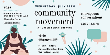 Community Movement tickets