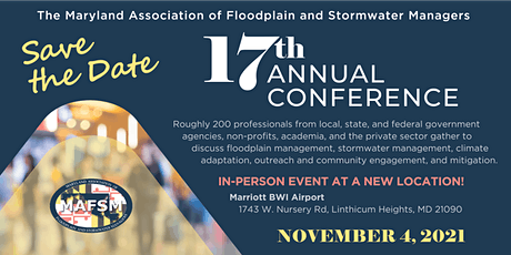 17th Annual MAFSM Conference tickets