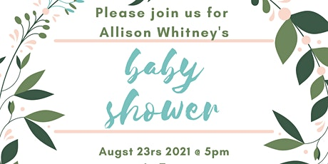 Allison's Virtual Baby Shower tickets