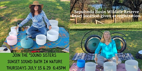 Sunset Sound Bath with the Sound Sisters - Sepulveda Basin Wildlife Reserve tickets
