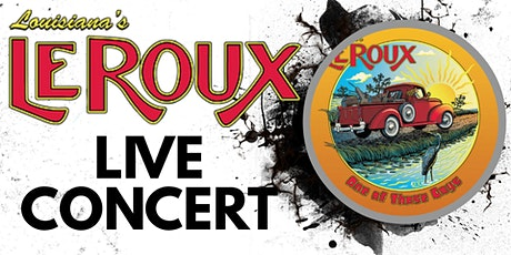 LeRoux Concert Package tickets