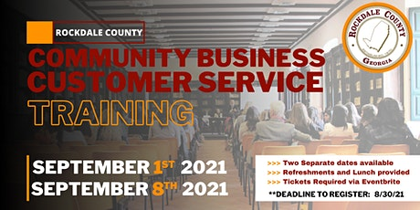 Community Business Customer Service Training [Rockdale County] tickets
