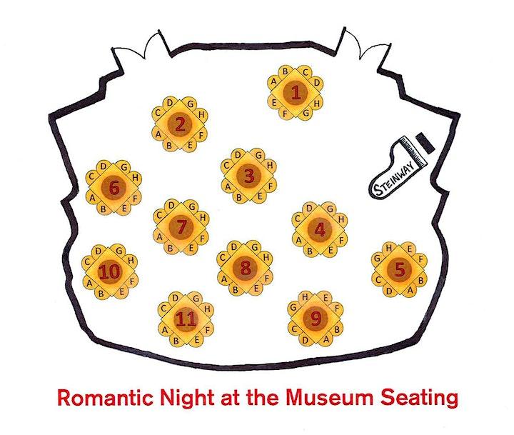 Romantic Night at the Museum 2021   6-9pm image