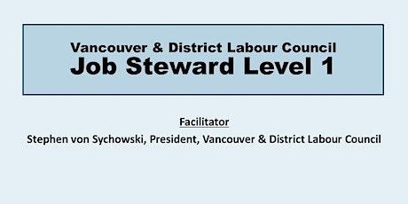 Job Steward Level 1 tickets