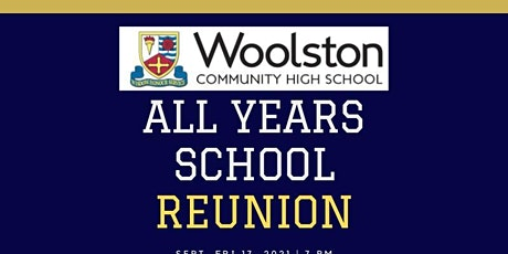 Woolston High School ALL YEARS REUNION raising Money for St Rocco's Hospice tickets