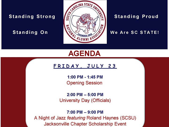 2021  SC State University National Alumni Association Virtual Convention image