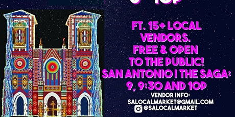 2nd Saturday Night Market at Main Plaza -Free and open to the public tickets