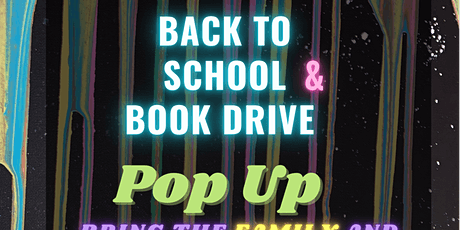 Back To School & Book Drive POP UP tickets