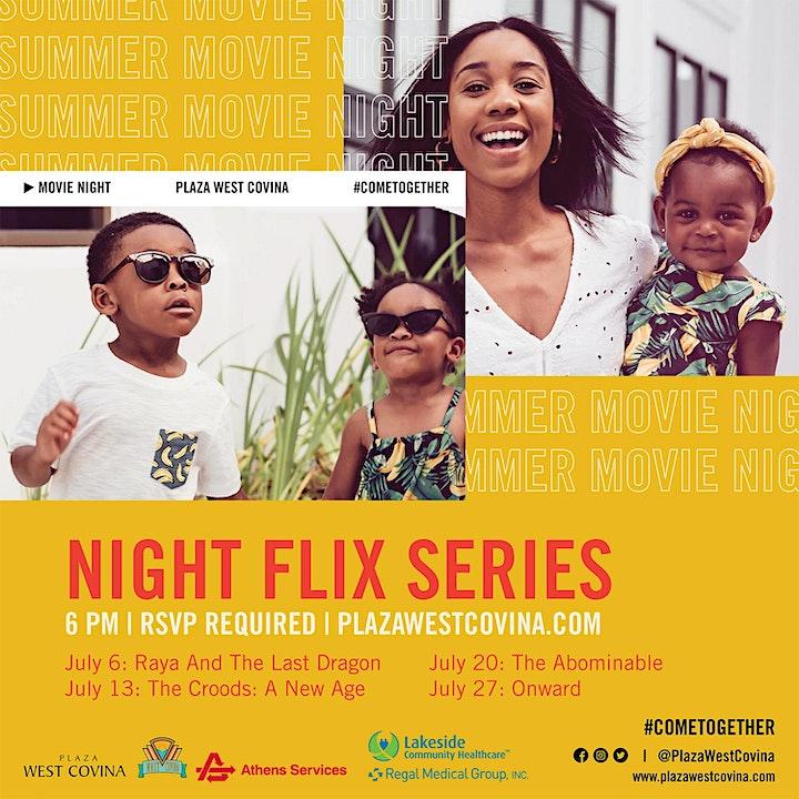 SUMMER MOVIE NIGHT FLIX SERIES image