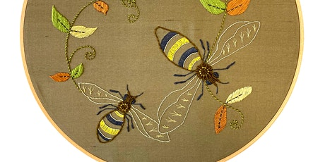 Introduction to Embroidery: Traditional Insect tickets
