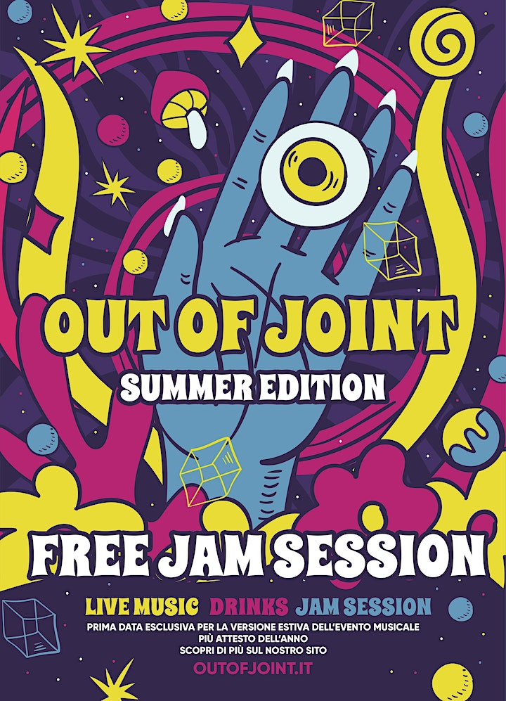 Immagine Out of Joint - Summer Edition @ Reloaded / AWARE + DIORAMA + Jam Session
