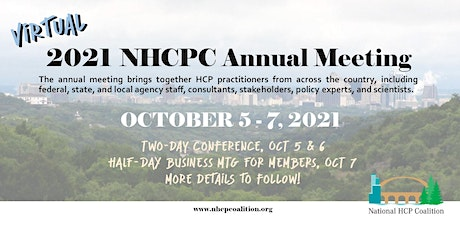 2021 National HCP Coalition Annual Meeting tickets