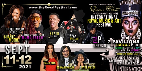 INTL ROYAL MUSIC & ART FESTIVAL | RESCHEDULED to SEPT 11-12, 2021 tickets