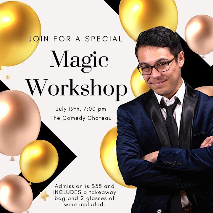 Nathaniel Segal Magic Workshop image