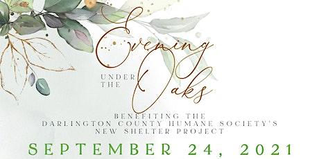 Evening Under the Oaks 2021 tickets