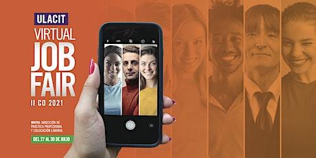 ULACIT Virtual Job Fair tickets