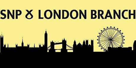 London SNP summer social tickets