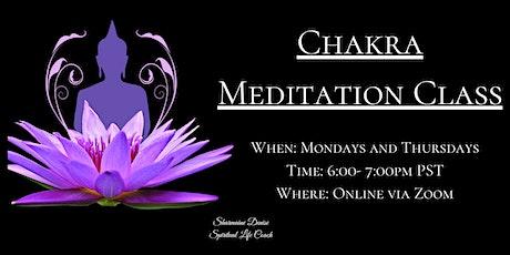 Chakra Meditation Class tickets