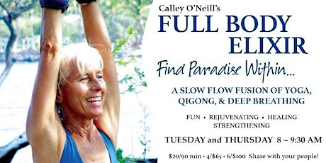 The Full Body Elixir with Calley O'Neill tickets