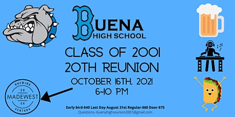Buena High 20th Reunion tickets