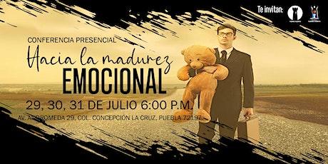 CONFERENCIA: Hacia la Madurez Emocional 29-30 Julio boletos