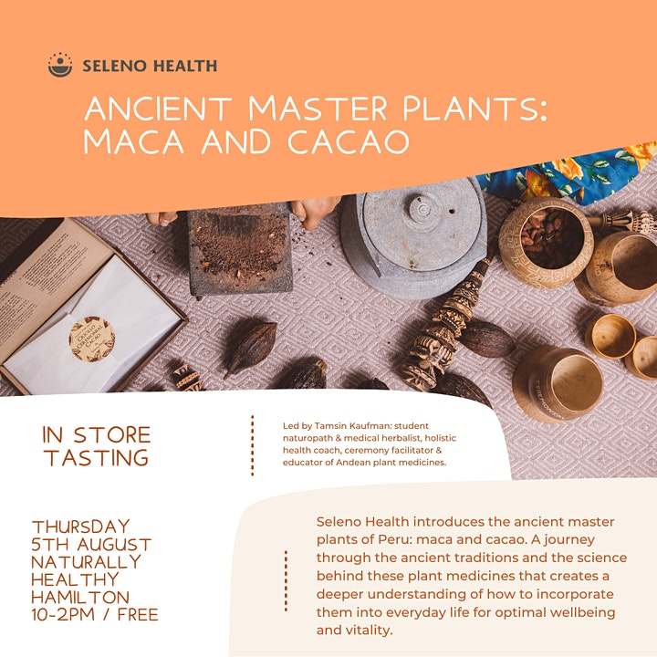 HAMILTON: Connect with cacao and maca! image