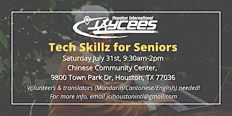 Tech  Skillz for Seniors - Volunteers Needed!! tickets