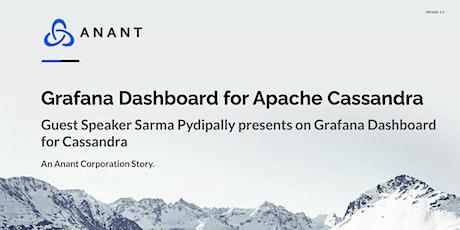 Apache Cassandra Lunch #62: Grafana Dashboard for Apache Cassandra tickets