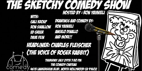 The Sketchy Comedy Show at the Comedy Chateau tickets