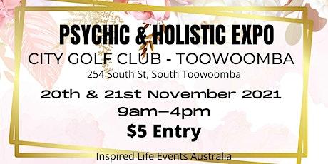 Toowoomba Psychic & Holistic Expo tickets
