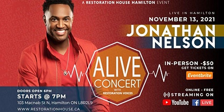 Alive Concert With Jonathan Nelson tickets